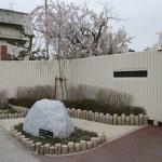 神田小学校校門の桜ガーデン