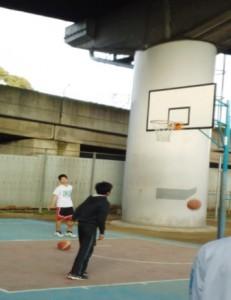 豊島東公園3on3バスケットコート