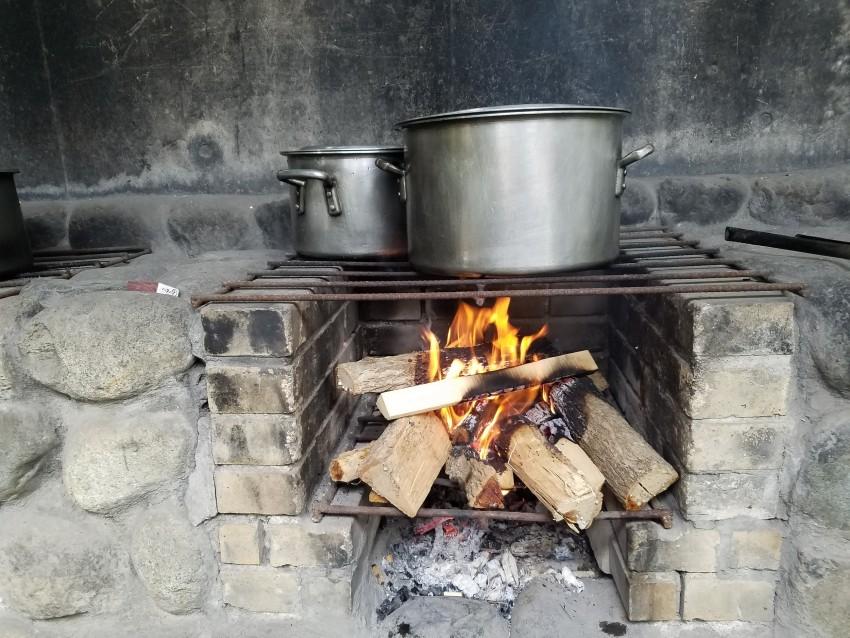 野外炊事3